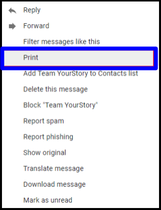 save multiple emails as pdf Gmail