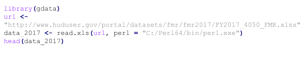 This code will allow you to read an excel file from the web url.