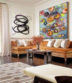 lafge abstract wall art