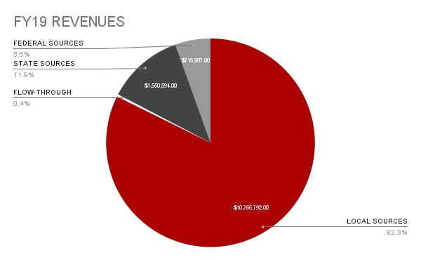 FY19 Revenues